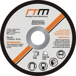 "125mm 5"" Cutting Disc - 50 Pack"