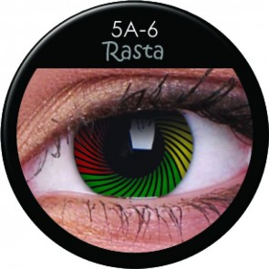 Crazy Lens Contacts - Rasta