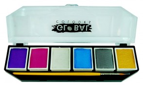 BodyArt 6 Colour Palette - Pearl