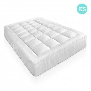 Goose Down & Feather Mattress Topper - King  Single