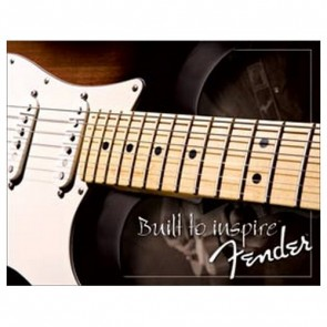 Sign - Fender Built To Inspire