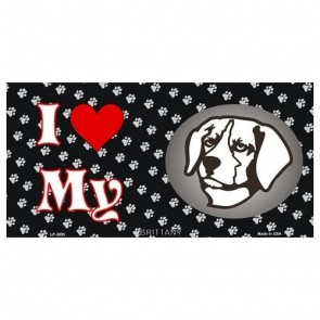 USA Novelty Number Plate - Brittany - I Love My