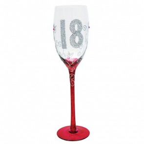 18th Birthday Traditional Champagne Flute