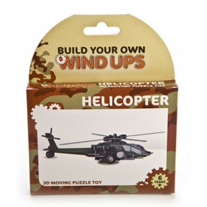 BYO Wind Up Helicopter
