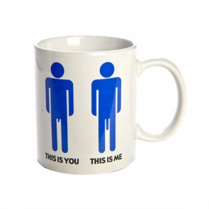 This Is You, This Is Me Mug