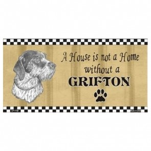 USA Novelty Number Plate - Grifton - House Is Not A Home