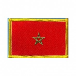 Morocco Flag Embroidered Patch