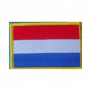 Netherlands Flag Embroidered Patch
