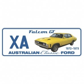Novelty Number Plate - Ford - Xa Falcon Gt 1972-1973