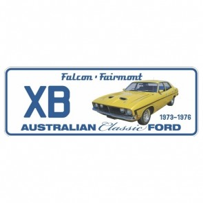 Novelty Number Plate - Ford - Xb Falcon Fairmont 1973-1976