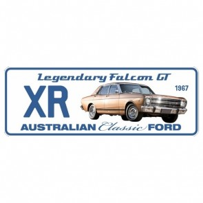 Novelty Number Plate - Ford - Xr Legendary Falcon Gt 1967